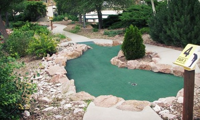 Academy Miniature Golf - One block South of Dublin and Academy: Unlimited Rounds of Miniature Golf for Two or Five at Academy Miniature Golf (Up to Half Off)