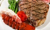 Portofino Ristorante - City Island: Surf 'n' Turf Dinner with Wine for Two or Four at Portofino Restaurant (Up to 67% Off). Four Options Available.