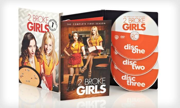 2 Broke Girls Season One on DVD: $15.99 for 2 Broke Girls: The First Season on DVD ($44.98 List Price). Free Shipping and Free Returns.