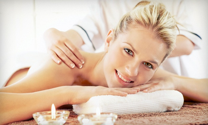 Aesthetica Day Spa and Full Esthetics - Greenbelt: $55 for a Swedish Massage and Infrared-Sauna Session at Aesthetica Day Spa and Full Esthetics ($110 Value)