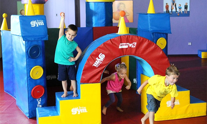The Little Gym of Bay Ridge-Bensonhurst - Bensonhurst: Four Weekly Kids' Gymnastics Classes at The Little Gym (Up to 53%). Three Options Available.