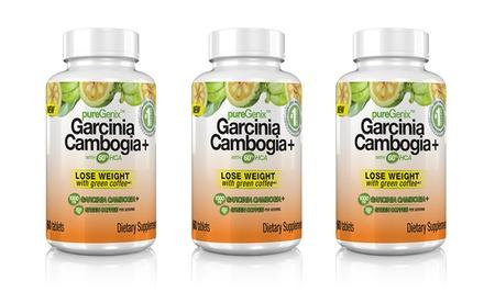 Buy 2 Get 1 Free: pureGenix Garcinia Cambogia+ with 60% HCA