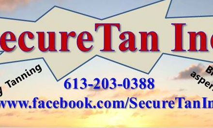 Up to 54% Off Spray Tan at SecureTan Inc.