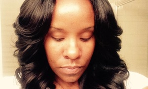 Krush Hair Studio: Full Sew-In Weave from Krush Hair Studio (55% Off)