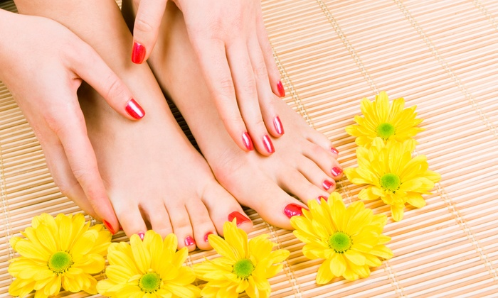 The Salon by Pat Cole at Harbour Village - Girvin: $35 for Gel Manicure with Classic Pedicure at The Salon by Pat Cole at Harbour Village ($60 Value)
