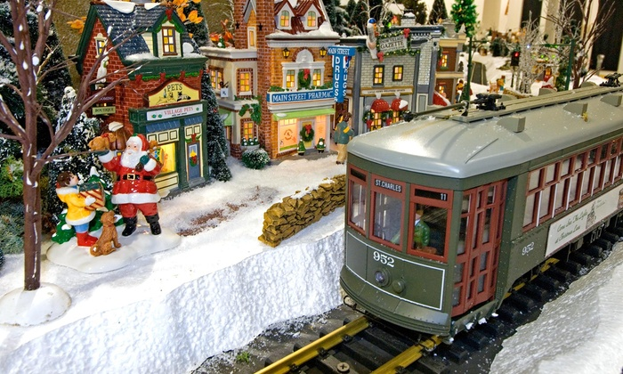EnterTRAINment Junction - EnterTRAINment, Inc.: Christmas in July Model-Train Event for Two or Four at EnterTrainment Junction (40% Off)