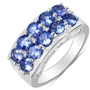 1.90 CTTW Tanzanite Ring in Sterling Silver