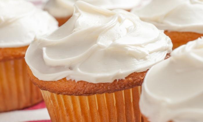Piece of Cake Lafayette - South Campus: One Dozen Cupcakes at Piece Of Cake (Lafayette, La) (40% Off)