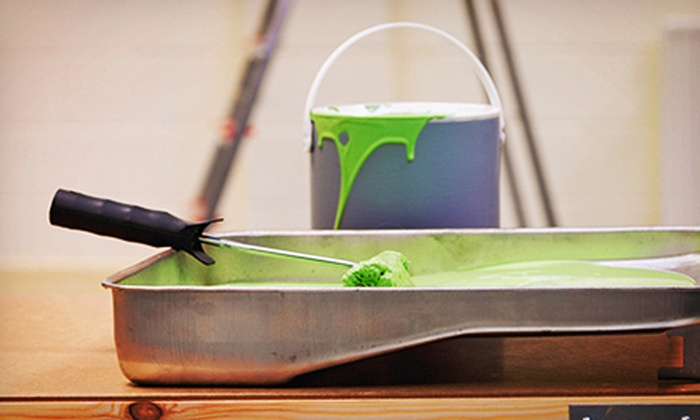 Ground Up Services - Anchorage: $225 for Interior Painting for Three Rooms from Ground Up Services ($900 Value)