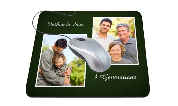 MailPix: One or TwoPersonalized Mousepads from MailPix (38% Off)