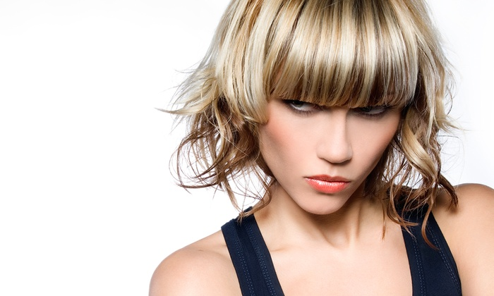Rockn' Hair - Castle Rock: Cut and Style with Option of All-Over Color or Partial Highlights at Rockn' Hair in Castle Rock (Up to 60% Off)