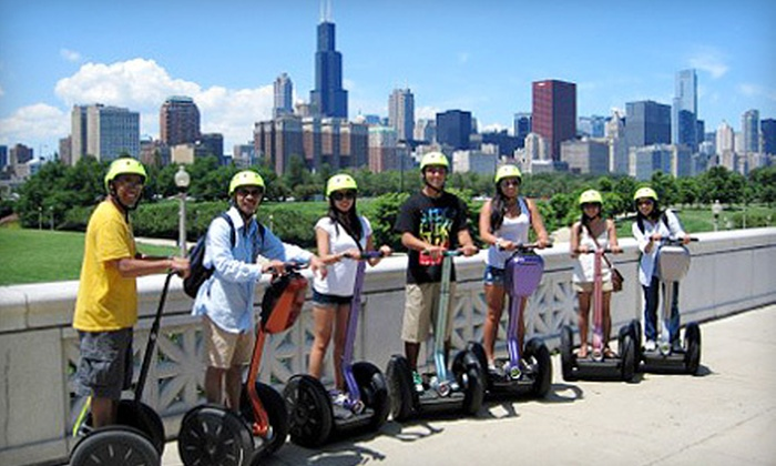 Chicago Segway Tour - Near North Side: Lakefront and Museum Campus Segway Tour for One or Two from Chicago Segway Tour (Up to 56% Off)