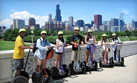 Chicago boasts some of the world's most iconic landmarks, for which Chicago Segway Tour leads explorations year-round on its two-wheeled chariots. With a fleet of new, all-terrain Segway i2's and x2's, staff members introduce natives and tourists to the city, covering more ground than traditional walking tours or nontraditional crab-walking final-remark.mlon: N Lake Shore Dr, Chicago, , IL.
