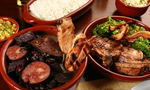 Patio Brasil Restaurant: Lunch or Dinner for Two or Four at Patio Brasil Restaurant (Up to 42% Off)