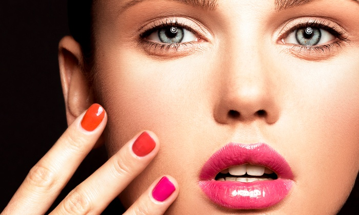 Viva Glam Salon - Port Richey: Two No-Chip Manicures from The Nail Box (50% Off)