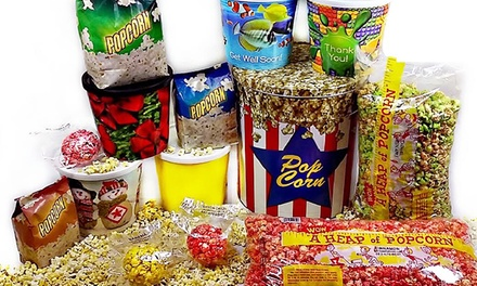 Gourmet Popcorn for a Year, or $10 for $20 Worth of Popcorn and Snacks at Yum Yum's Gourmet Popcorn