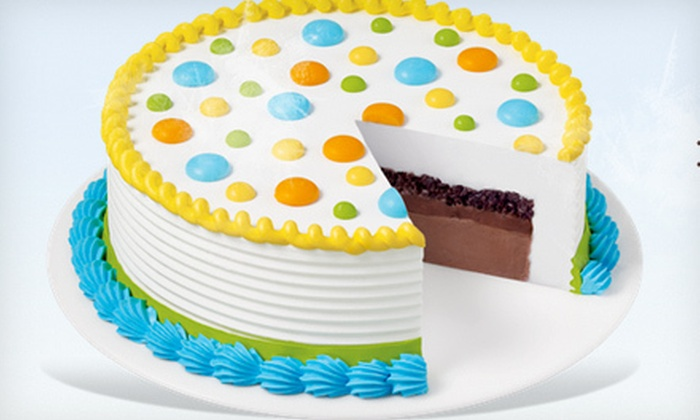 Dairy Queen - Middletown: $11 for an 8-Inch Ice-Cream Cake at Dairy Queen  ($21.99 Value)
