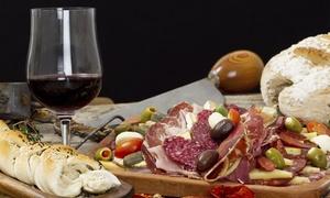 VECCHIA TRANVIA: Apericena con degustazione, primo, dolce e un litro di vino per 2 o 4 persone al Vecchia Tranvia (sconto fino a 73%)
