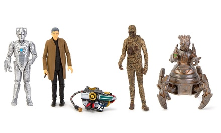 Set of Four Doctor Who Figures