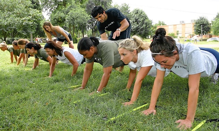 PT Fitness Bootcamp - Multiple Locations: Two or Four Weeks of Unlimited Boot Camp at PT Fitness Bootcamp (Up to 61% Off)