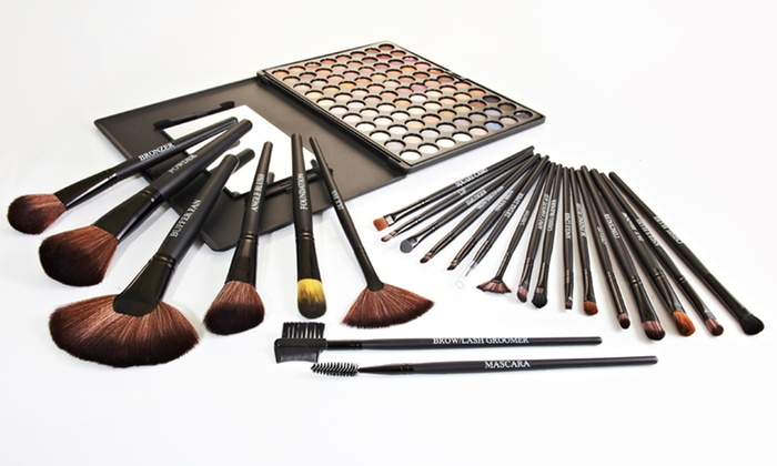 Beauté Basics 24-Piece Makeup-Brush Set: $29.99 for a Beauté Basics 24-Piece Makeup-Brush Set ($149.95 List Price). Free Shipping and Returns.