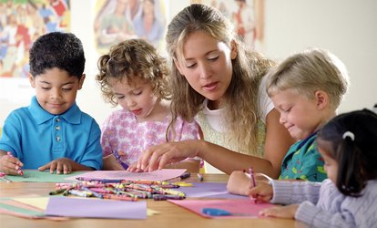 image for $68 for $150 Worth of Childcare — Montessori Kids Universe of Ashburn