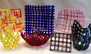 Designs by Sylvanye Glass Studio: Glass-Lattice Design Workshop for One, Two, or Four at Designs by Sylvanye Glass Studio (Up to 73% Off)
