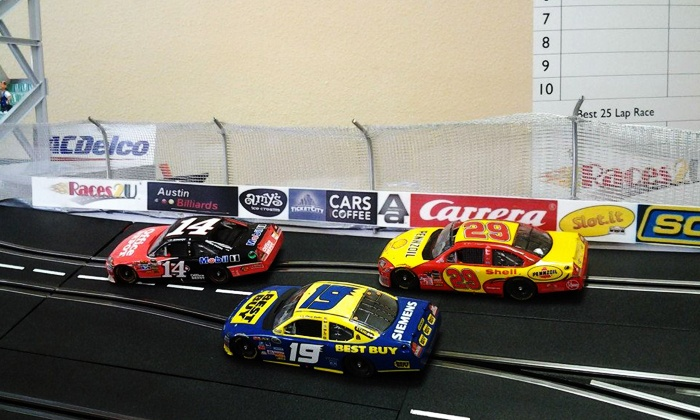 Races2U - The Gardens At Balcones: One-Hour of Mini Slot Car Racing for One, Two, or Four at Races2U (Up to 60% Off)