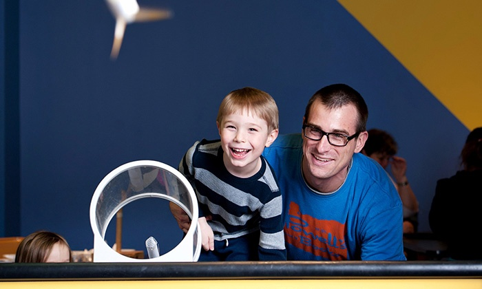Science Center of Iowa - Downtown Des Moines: Science Center of Iowa Admission and an IMAX Documentary for Two, Four, or Six (Up to 49% Off)