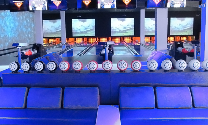 Strike 10 Bowling - Hallandale Beach: Bowling with Appetizers and Drinks for Two or Four at Strike 10 Bowling (Up to 41% Off).Three Options Available.