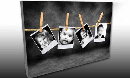 Custom Canvas Prints and Other Products at KeenART Media (Up to 56% Off). Two Options Available.