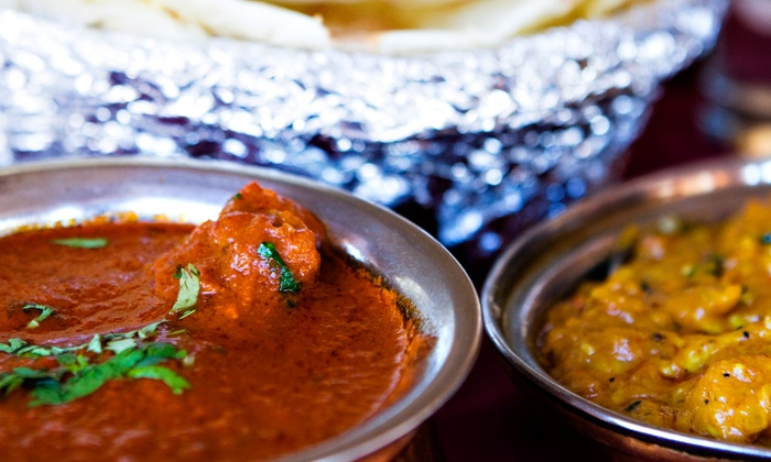 Sigree Bar & Grill - Frisco Bridges North: Indian Food at Sigree Bar & Grill (43% Off). Two Options Available.