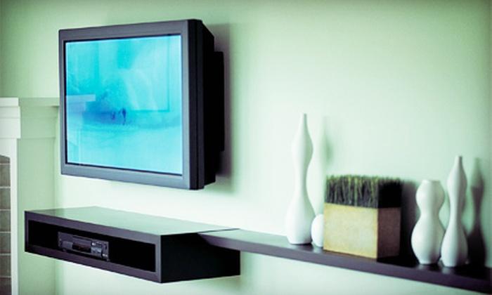 Custom Plasma Install - San Francisco: $185 for Custom Installation of One Plasma Television from Custom Plasma Install ($375 Value)