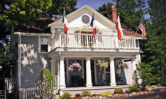 French Country Inn on the Lake - Geneva: One- or Two-Night Stay Valid Sunday–Thursday or Any Day of the Week at French Country Inn on the Lake (Up to 55% Off)