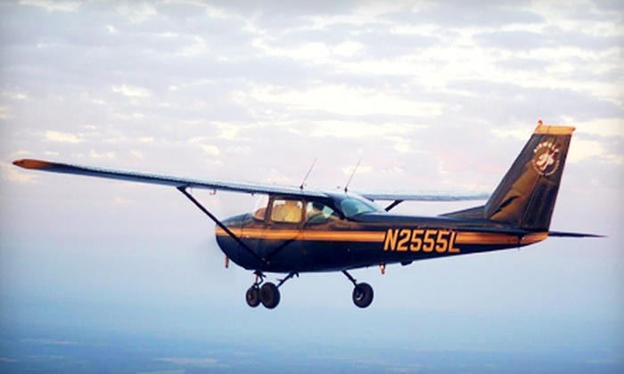 Airwolf Aviation - Anderson: $99 for a Discovery Flight with One Hour of Flight Time and a Ride-Along Guest at Airwolf Aviation ($209 Value)