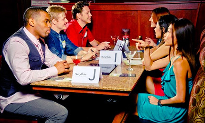 HurryDate - Orange County: Speed-Dating Party for One or Two or a Speed-Dating and Online-Dating Package from HurryDate (Up to 72% Off)