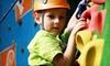 Nothing But Bounce - 6: $16 for Open-Play and Rock-Climbing Admission for Four Children at Nothing But Bounce ($48 Value)