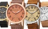 August Steiner Women's Watch with Genuine Leather Strap: August Steiner Women's Watch with Genuine Leather Strap. Multiple Styles Available. Free Returns.