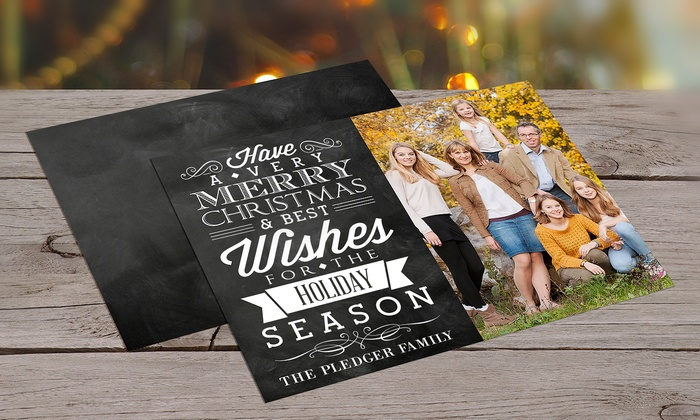 Dinkleboo: Custom Holiday Cards from Dinkleboo (Up to 77% Off)