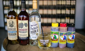Eastside Distilling: Spirit Tastings and Secret Aardvark Sauce for Two, Four, or Six at Eastside Distilling (Up to 50% Off)