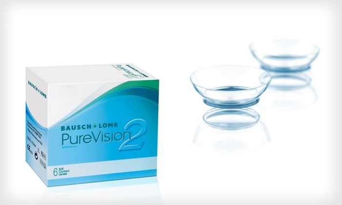 Bausch & Lomb PureVision 2 HD Contacts: $58 for Two Boxes of PureVision 2 HD Contact Lenses from Contact Lens Club ($105.98 List Price). Free Shipping.