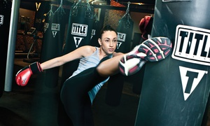 Title Boxing Club: $23 for Two Weeks of Boxing and Kickboxing Lessons with Hand Wraps at Title Boxing Club ($90 Value)