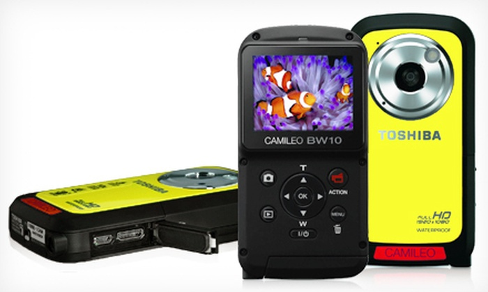 Toshiba Camileo Waterproof Camcorder: $65 for a Toshiba Camileo HD Waterproof Camcorder in Yellow ($149.99 List Price). Free Shipping.