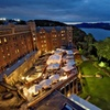 West Point Hotel Overlooking Hudson River