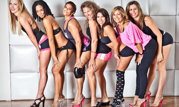 Polestars - Parkside: Three or Five Classes or Private Party for Seven at Polestars in Hollywood (Up to 67% Off)