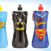 $11.99 for a 3-Pack of Sharkskinzz Superhero Folding Bottles
