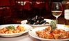Mofongo's - Mofongo's: Three-Course Italian Dinner for Two or Four at Aroma D' Italia (Up to 58% Off)