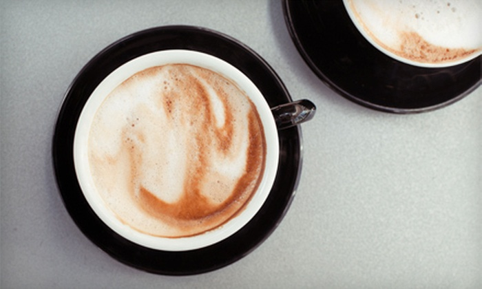 Simon Sips - Theater District - Times Square: 5 or 10 Large Coffees or Medium Espresso Drinks at Simon Sips (Up to Half Off)