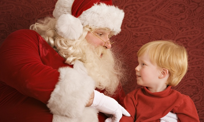 Santa Photos at Celebration Town Center - Celebration: $59 for Skip-the-Line Santa Photo Package from Santa Photos at Celebration Town Center ($99.99 Value)