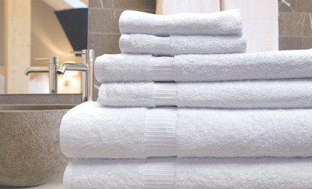 6-Piece 650GSM 100% Egyptian Cotton Towel Set